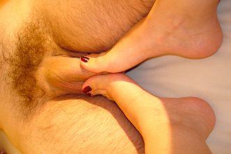 Mon ex copine essaie de feet crushing