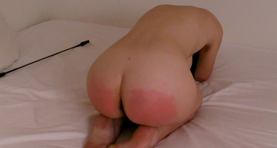 My sub sexfriend with red ass is humiliated